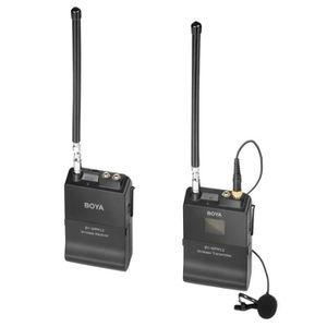 MICROPHONE EXTERNE Système de microphone sans fil VHF BY-WFM12 avec é