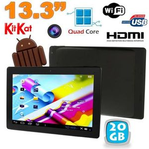TABLETTE TACTILE Tablette tactile 13 pouces Android 4.4 KitKat W…