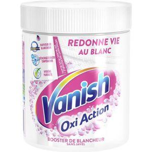 LESSIVE VANISH OXI Lot de 2 détachants Blanc - Action Crys
