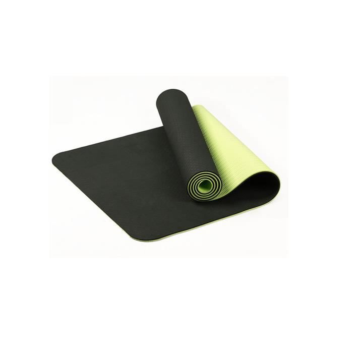 Tapis de yoga classique Yoga Mat Pro TPE Eco Friendly Antiderapant Fitness Tapis d'exercice @duo559