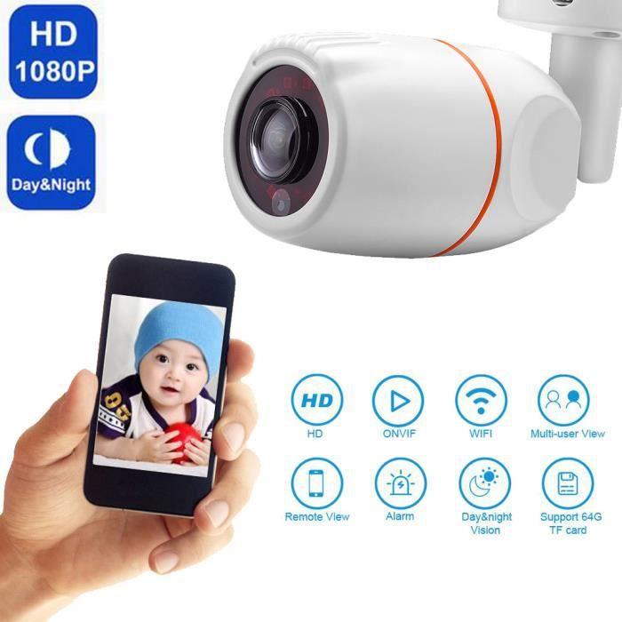 Caméra Hd 1080P Ahd Cam Ir étanche vision nocturne 2.0Mp 180 degrés Fisheye Royaume Uni @Los1356