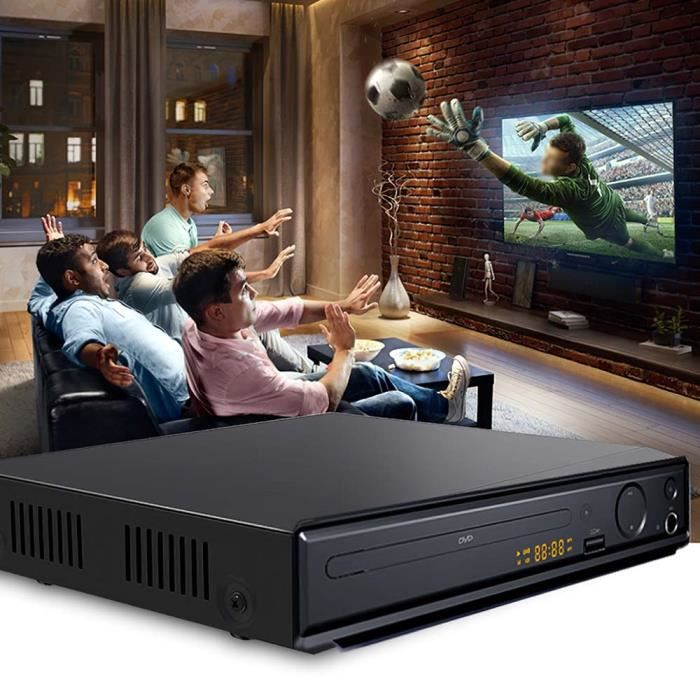 Lecteur DVD, adapté à la télévision, lecteur HD DVD / CD, avec sortie HDMI AV