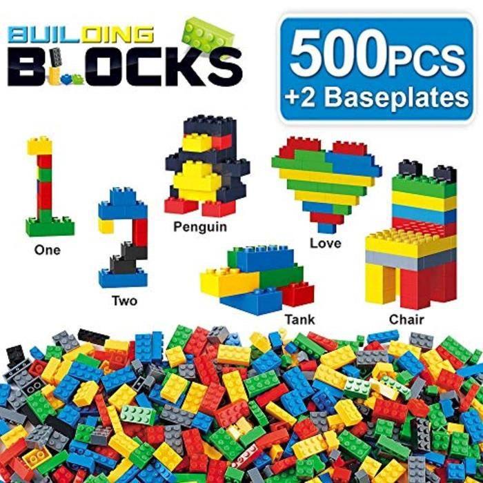 Jeu D'Assemblage FBNKK briques de construction classiques tige blocs de construction jouet jeu science ingénierie mathématique éduca