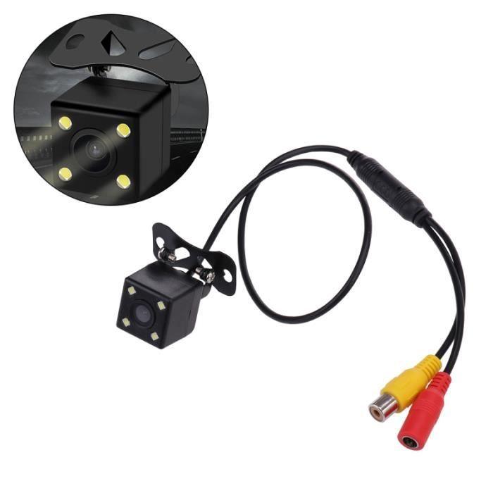 Caméra de recul intelligente Caméra de recul inversée Caméra de recul Dynamique HD Vision nocturne 120 degrés grand angle (puce 7208