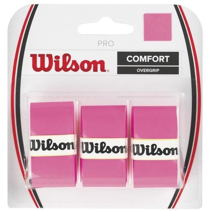 Sobregrip Wilson PRO COMFORT 3u. Rosa