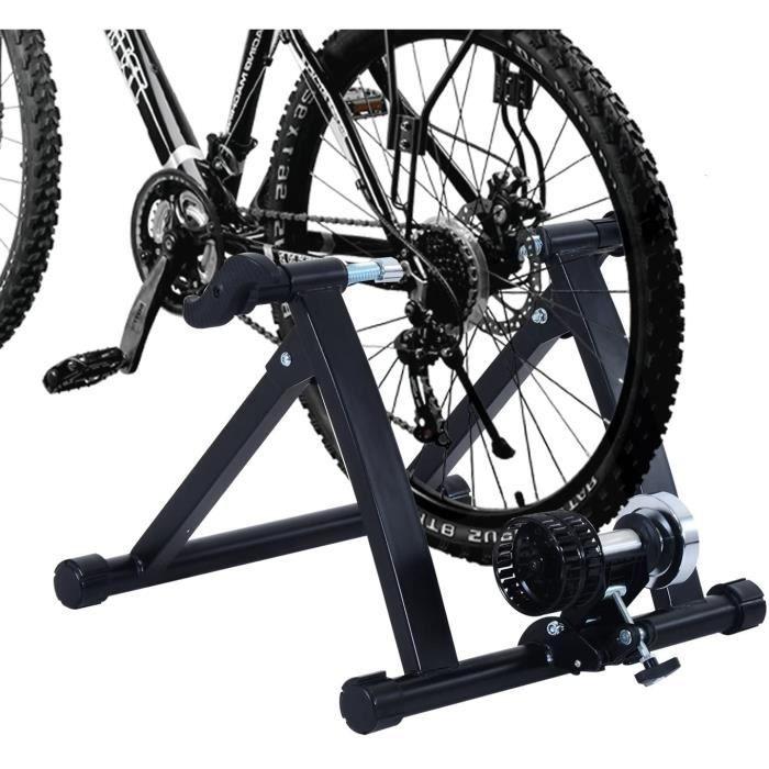 Home Trainer pour Velo Argent Noir equipement-Support Entrainement vélo[228]