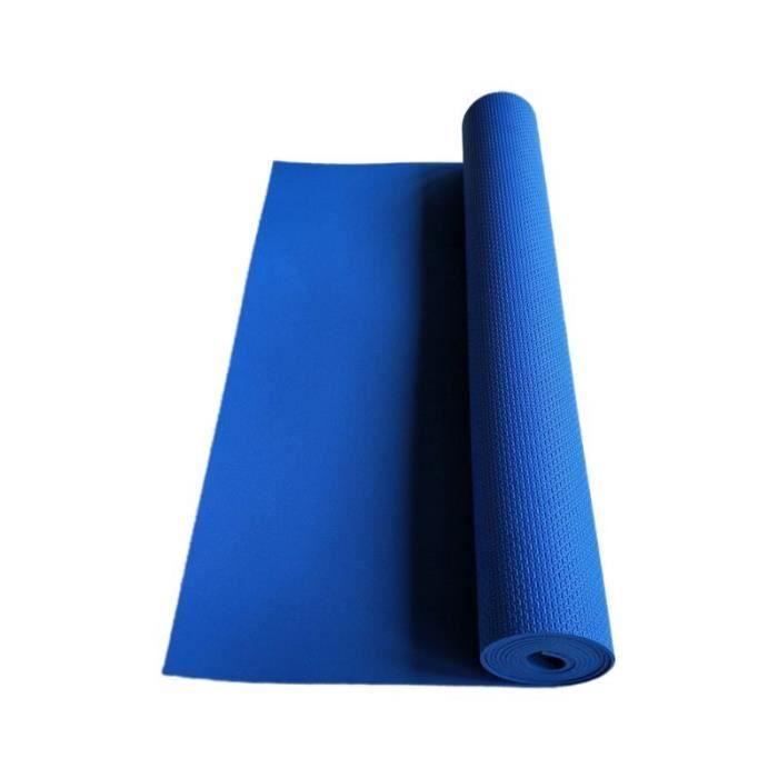 Équipement de forme physique Y98F de couverture de musculation d'exercice de tapis de Yoga d'eva antidérapant ép CC2340
