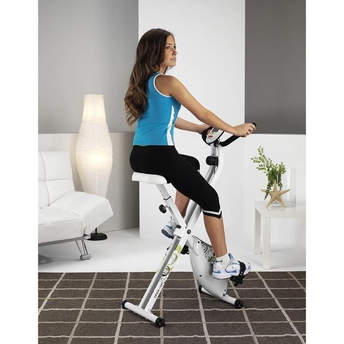 Tecnovita by BH Open&GO YF90 Vélo d'appartement Pliable. Volant d'inertie équivalent à 8kg. Pliable. Système de de Frein magnét44