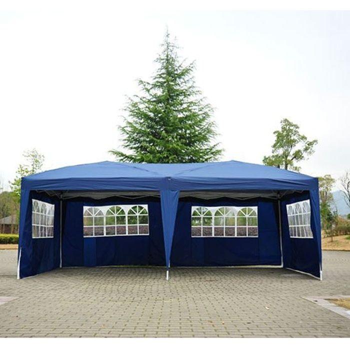 Freestyle Tente de r/éception Blanche avec c/ôt/és 4 x 6 m