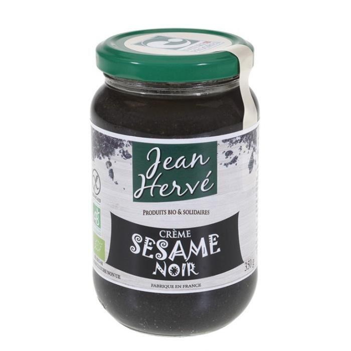Jean Hervé - Crème sésame noir 350gr