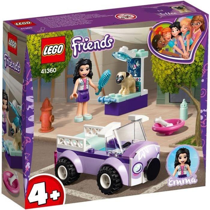 LEGO® 4+ Friends 41360 La clinique vétérinaire mobile d'Emma