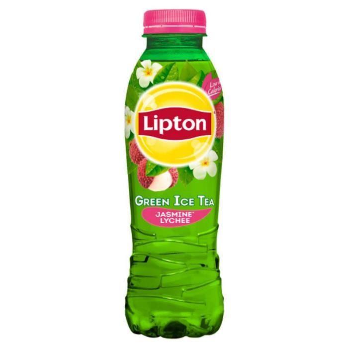 Lipton - Lipton Green Jasmin Litchi 50cl (pack de 24)