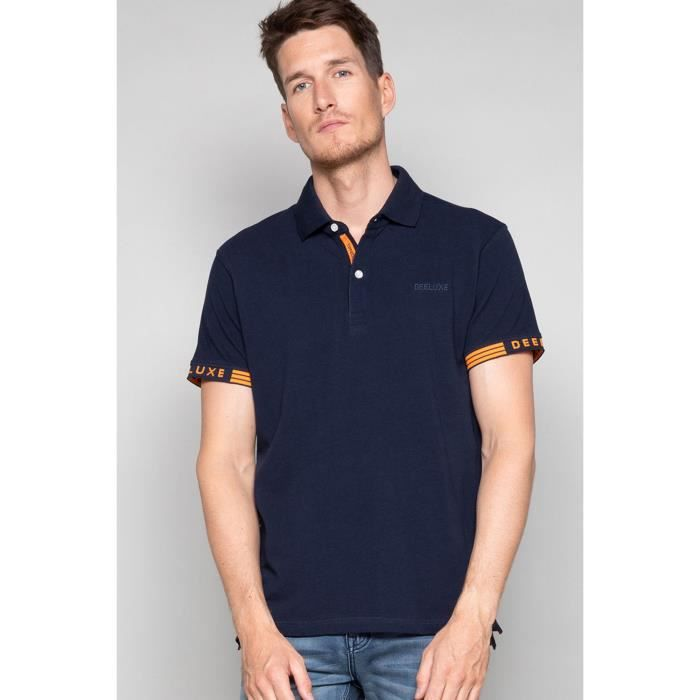 Polo à manches logotées WARRIOR - Couleur - Midnight, Taille - M
