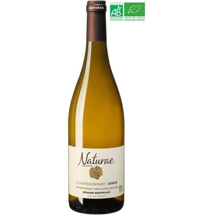 Gérard Bertrand Naturae Chardonnay IGP Pays d'Oc - Vin blanc du Languedoc-Roussillon - Bio