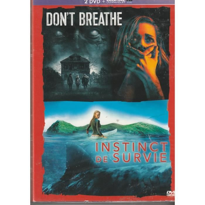 Don't Breathe + Instinct de survie [DVD + Copie digitale]