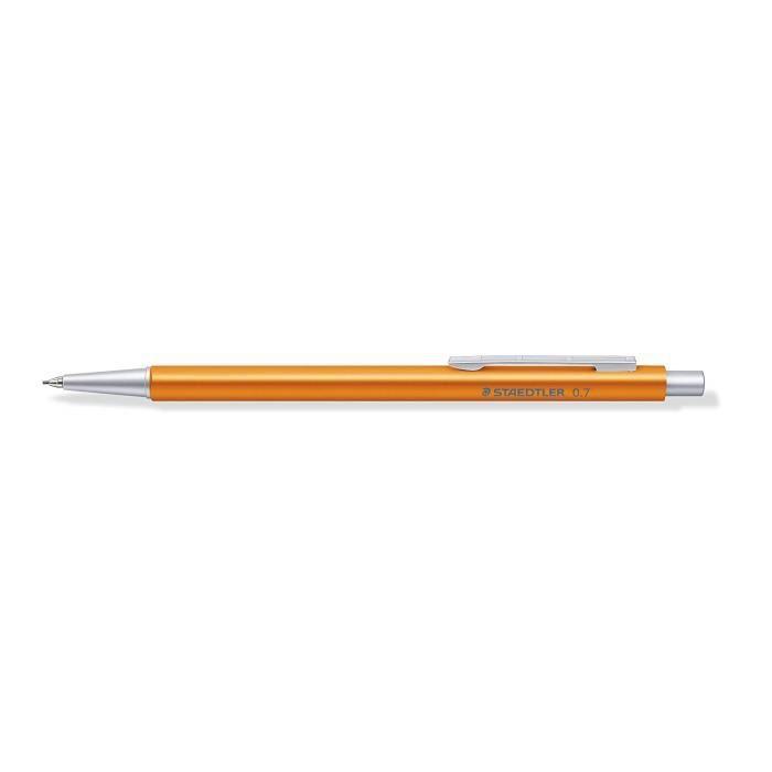 STAEDTLER Initium Organizer Pen Porte-mine en aluminium corps orange 0,7 mm