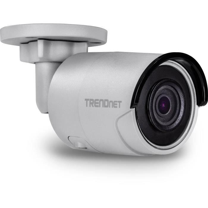 'Trendnet ip318pi Appareil Photo 8 MP 4 K PoE WRD intérieur-extérieur IR Bullet H.265 Blanc