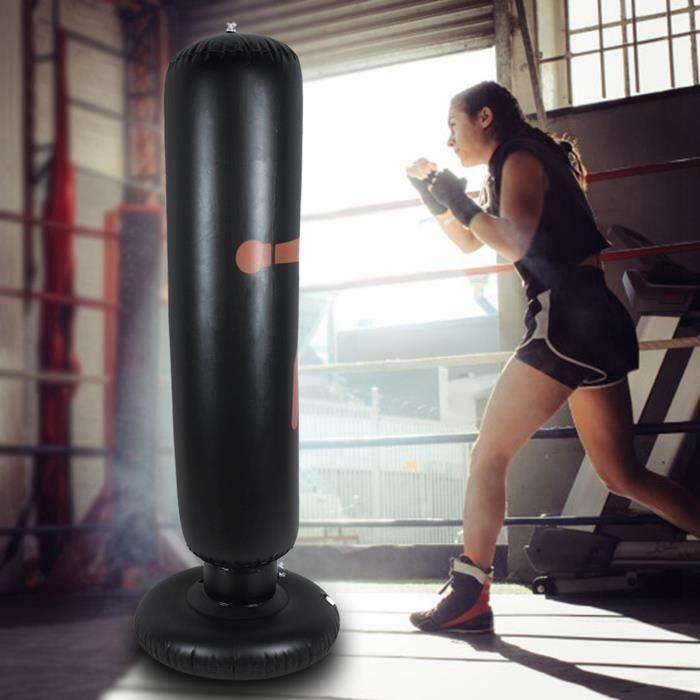 Sac de frappe de boxe sur pied – Sac de frappe gonflable d'excellente qualité et résistant VGEBY6