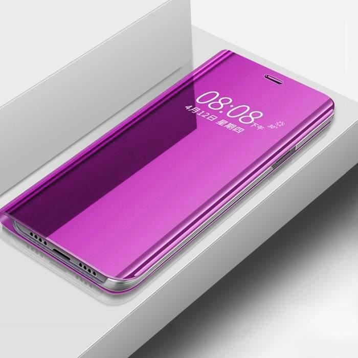 COQUE - BUMPER Coque Xiaomi Redmi Note 8 Pro, Antichoc Miroir Fol