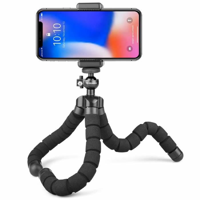 Rollei Selfie Clip Smartphone support noir