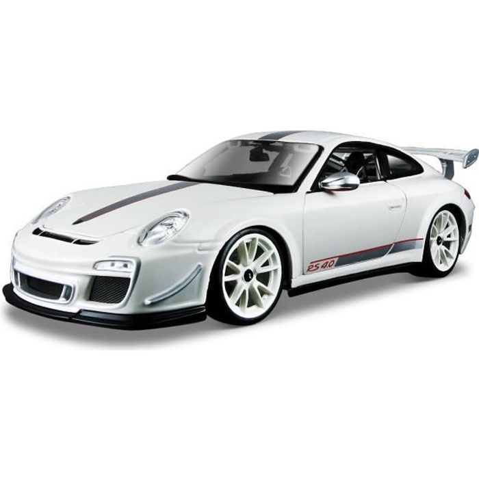 porsche 911 gts rs4 blanche achat vente voiture construire cdiscount. Black Bedroom Furniture Sets. Home Design Ideas
