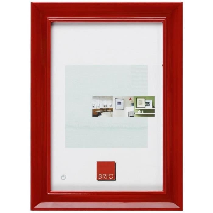 brio cadre photo pep 39 s rouge 20x30 a4 achat vente cadre photo cdiscount. Black Bedroom Furniture Sets. Home Design Ideas