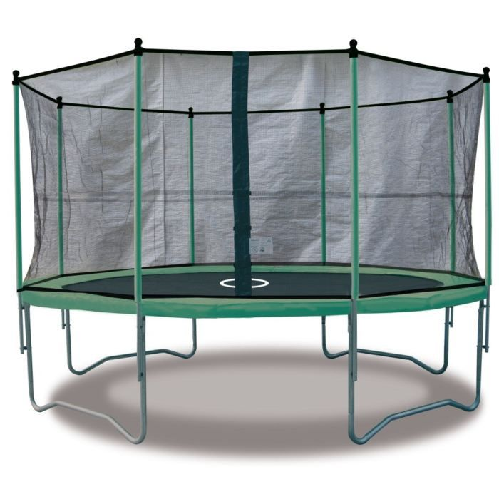 kangui trampoline twin 360 filet de protection achat vente trampoline cdiscount. Black Bedroom Furniture Sets. Home Design Ideas
