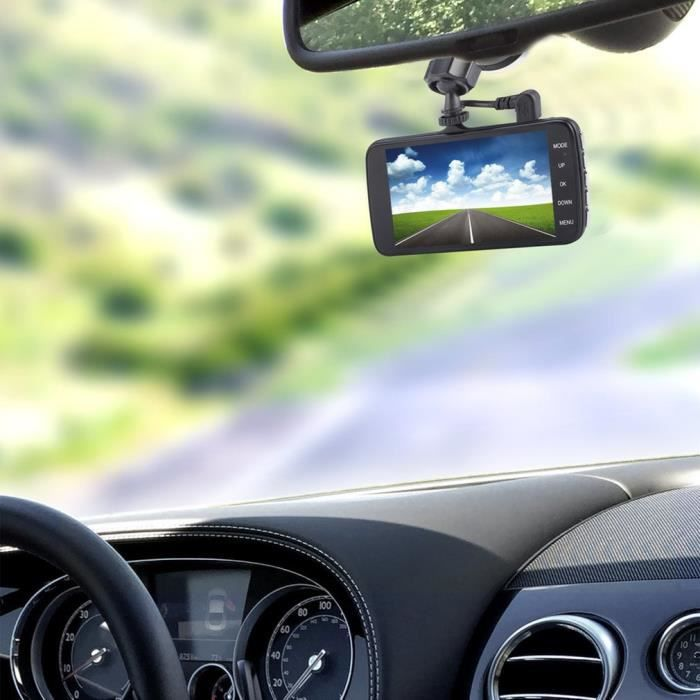 HAUT PARLEUR VOITURE Catuo Full HD 1080P 4 pouces IPS LCD double object