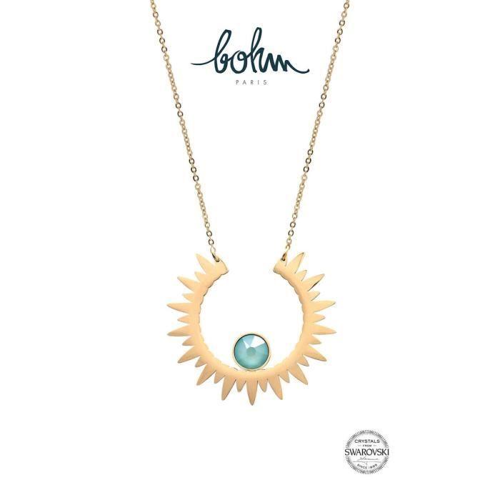 Nouvelle collection de bijoux avec cristaux Swarovski. Collier Sun ...