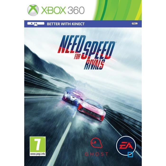 need for speed rivals jeu xbox 360 achat vente jeux xbox 360 need for speed rivals jeu x360. Black Bedroom Furniture Sets. Home Design Ideas