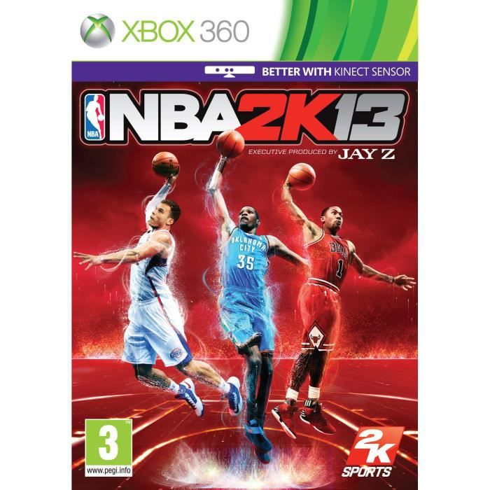 JEU XBOX 360 JEU NBA 2K13 X360 MIX UK