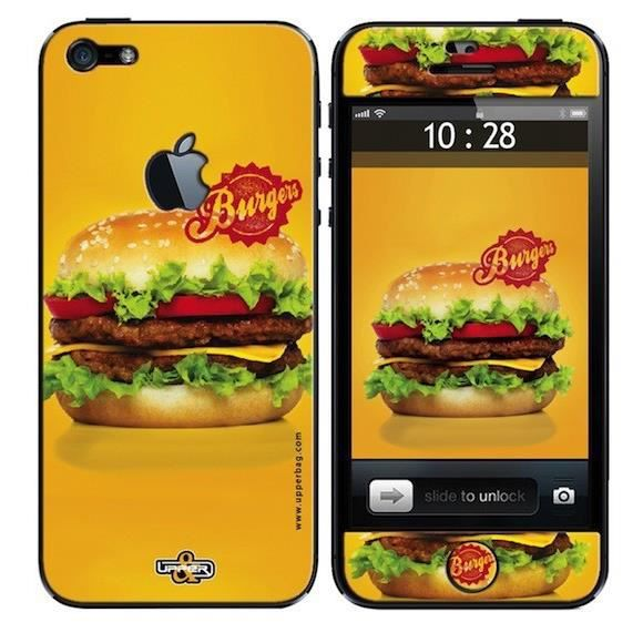 coque iphone 5 burger