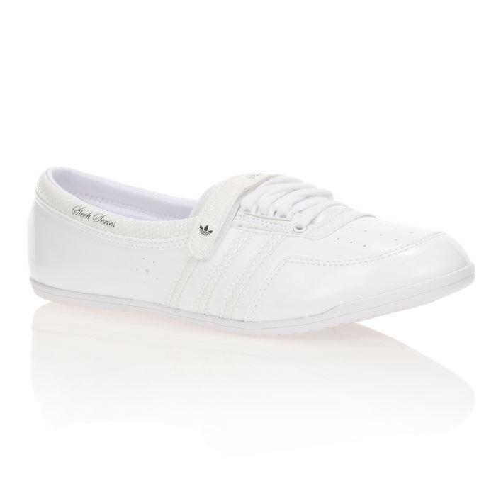 ADIDAS Baskets Cuir Concord Round W Femme Blanc Achat