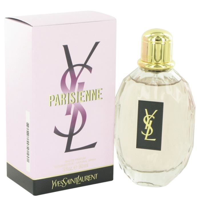 parisienne eau de parfum femme 90 ml ysl achat vente. Black Bedroom Furniture Sets. Home Design Ideas