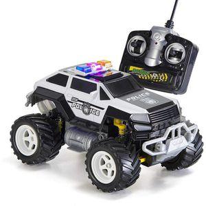 RADIOCOMMANDE Monster truck police voiture telecommandée 4x4 tou