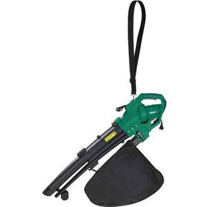 ASPIRATEUR - SOUFFLEUR Aspirateur souffleur broyeur 3000w - Vert et noir