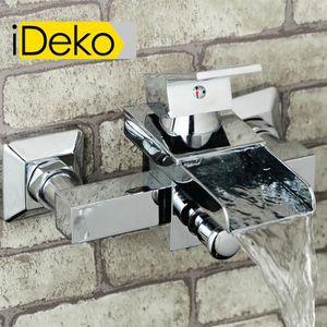 ROBINETTERIE SDB iDeko®Robinet Mitigeur cascade de douche baignoire