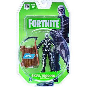 FIGURINE - PERSONNAGE Figurine Fortnite 10cm - Skull Trooper
