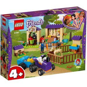 ASSEMBLAGE CONSTRUCTION LEGO® 4+ Friends 41361 L&rsquo L'écurie de Mia - J
