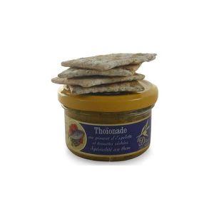 PLAT A BASE DE POISSON Thoïonade au piment d'Espelette et tomates séchées