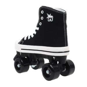 ROLLER IN LINE Rollers Rookie canvas high black - Rookie