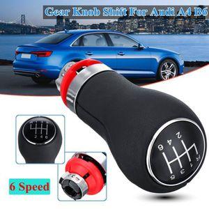 Pour Audi A5 2007-2015 Automatique DSG Gear Stick guêtres en cuir noir