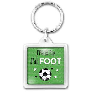Porte-Cl/és Rond Plastique JPeux Pas JAi Handball Humour Sport Excuse Id/ée Cadeau