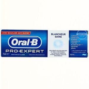 DENTIFRICE ORAL B Dentifrice Pro Expert Blancheur Saine 75 ml