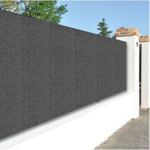 CLÔTURE - GRILLAGE brise vue, toile HDPE 300g/m² de jardin en polyéth