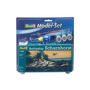 MAQUETTE DE BATEAU REVELL Model-Set Battleship Scharnhorst - Maquette