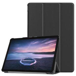 HOUSSE TABLETTE TACTILE Etui coque Samsung Galaxy Tab A 10.5 2018 noir Sma