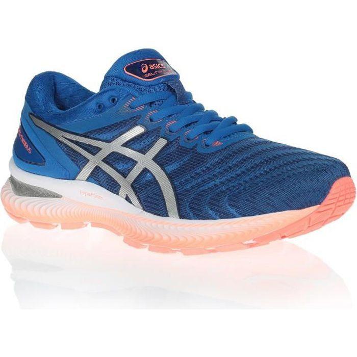 ASICS Chaussures de running Gel-Nimbus 22 - Homme - Bleu ...