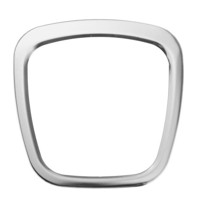 2x Garniture D'emblème Central De Volant De Voiture Pour AUDI A1 A3 A4L A4 B6 B7 B8 Argent
