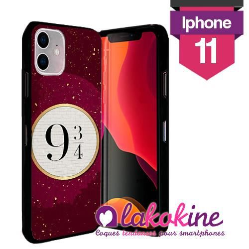 Coque Iphone 11 Silicone Harry Poter Magique